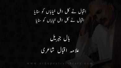 Photo of قطعہ اقبال نے کل اہل خياباں کو سنايا