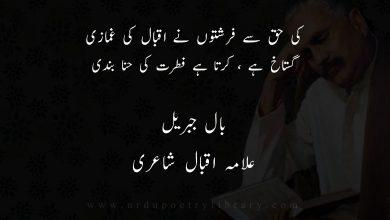 Photo of کی حق سے فرشتوں نے اقبال کی غمازی