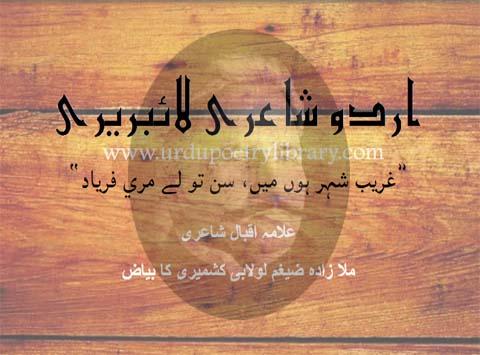 Gareeb Shaher Hun Main, Sun To Lay Mere Fryaad