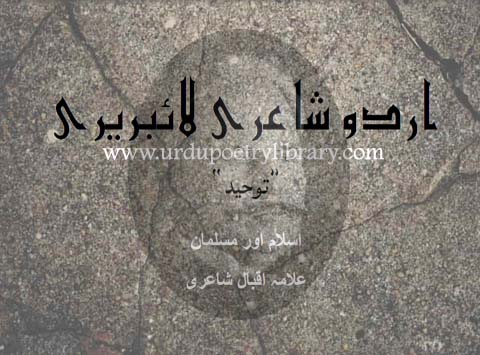Zinda Qowwat The Jahan May Yahi Toheed Kabhi